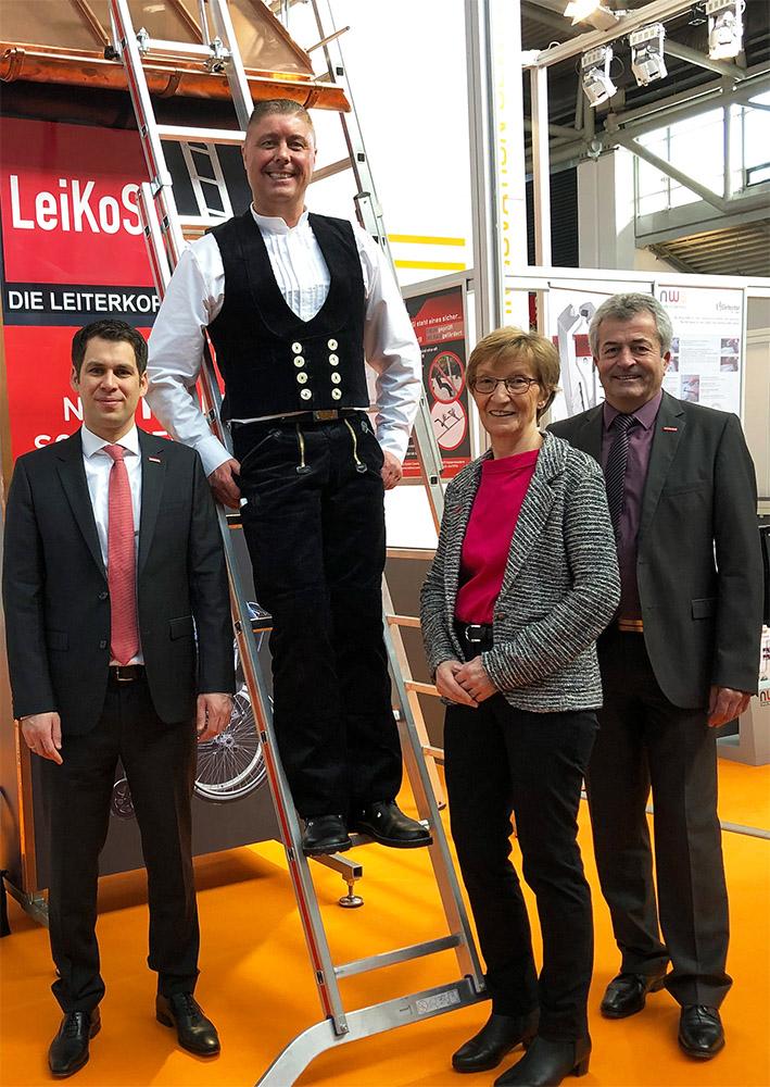 LeiKoSi Messestand auf der Internationale Handwerksmesse München (IHM) 2019